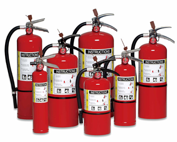 Portable Fire Extinguishers Image